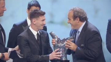 Месси – лучший футболист Европы образца прошлого сезона