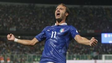 Официально: Альберто Джилардино стал футболистом «Палермо»