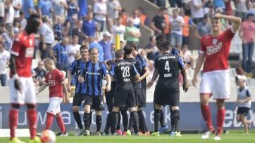 «Брюгге» забил семь голов в ворота «Стандарта»
