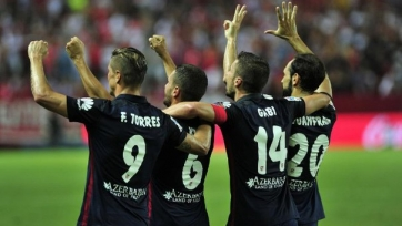 «Атлетико» разгромил «Севилью»