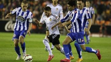 «Валенсия» и «Депортиво» поделили очки