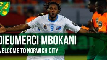Официально: Дьёмерси Мбокани перешёл в «Норвич»