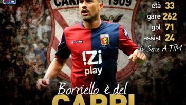 Марко Боррьелло будет выступать в «Карпи»