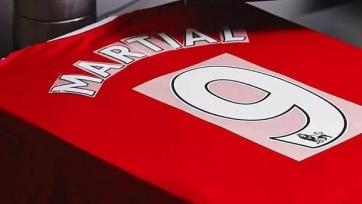 Мартиаль выбрал девятый игровой номер