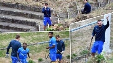 За вылет из кубка Чехии тренер привлёк футболистов к общественным работам