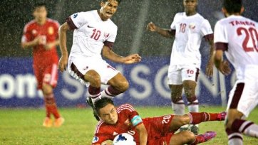 Сборная Катара одержала самую крупную победу в своей истории