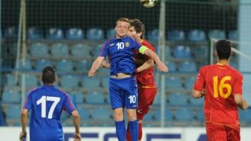 Молодёжная сборная Молдовы обыграла Черногорию