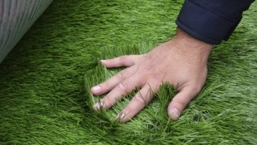 В Саранск привезли итальянский газон для стадиона «Мордовии»