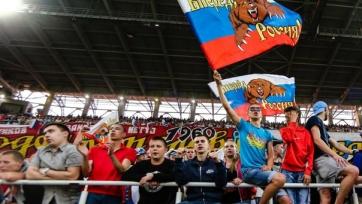 Болельщики верят в победу России над Швецией