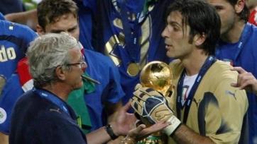 Джанлуиджи Буффон готовится к 150-му матчу за сборную Италии