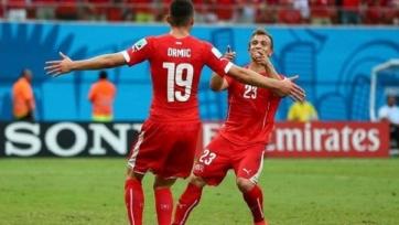 Швейцария одержала волевую победу в матче со словенцами