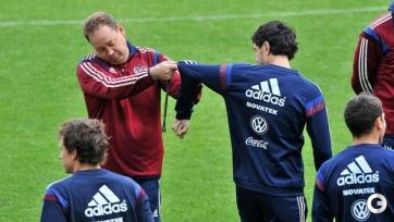 Сборная России провела тренировку, четверо футболистов остались в отеле