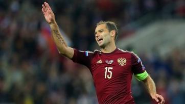 Российские футболисты, которые пропустили тренировку, сыграют против Лихтенштейна