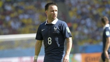 Матьё Вальбуэна проведёт 50-й матч за сборную Франции