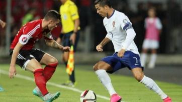 Португалия выиграла у албанцев
