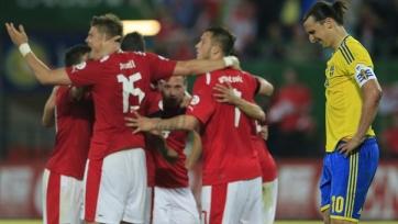 Златан Ибрагимович сыграет против Австрии