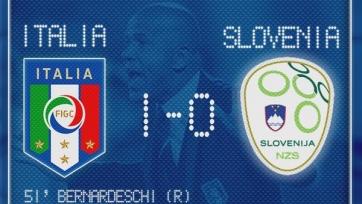 Сборная Италии U-21 обыграла словенцев