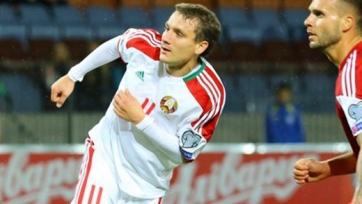 Дубль Гордейчука приносит победу сборной Беларуси