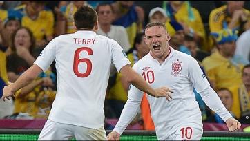 Джон Терри назвал Руни лучшим игроком в истории английской сборной