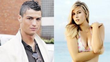 Роналду и Шарапова флиртуют в социальных сетях