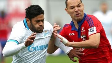 «Зенит» вырвал ничью в схватке с ЦСКА