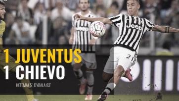 «Ювентус» ушёл от поражения в матче с «Кьево»