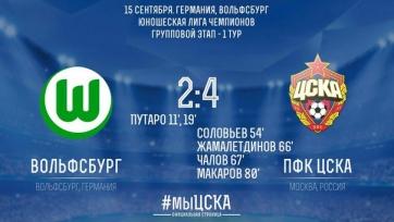 Невероятный камбэк ЦСКА в матче юношеской Лиги чемпионов
