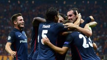 Гризманн выгрыз победу для «Атлетико»