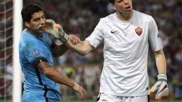 «Рома» выстояла в матче с «Барселоной»