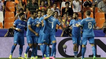 «Зенит» одержал первую победу в Испании в рамках еврокубков