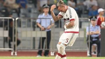 Мексес не попал в заявку «Милана» на игру с «Палермо»