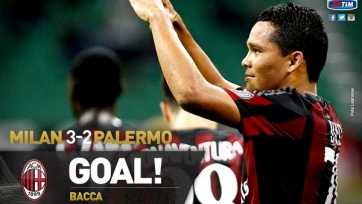 «Милан» переиграл «Палермо»
