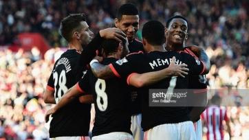 «Манчестер Юнайтед» вышел на второе место в АПЛ