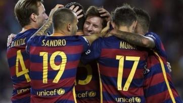 «Барселона» разгромила «Леванте»