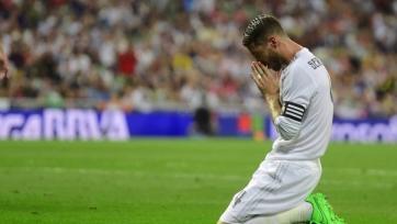 Серхио Рамос против «Атлетика» не сыграет