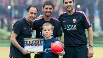 Два юных российских футболиста были приглашены в школу «Барселоны»