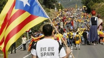 Хавьер Тебас: «Если Каталония отделится, «Барселона» не сможет играть в чемпионате Испании»