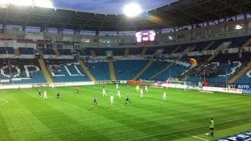 «Черноморец» на своём поле проиграл «Ворскле»