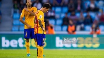 «Сельта» осадила «Барселону»