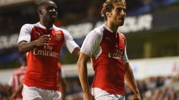 «Арсенал» обыграл «Тоттенхэм» и вышел в 1/8 финала Кубка Лиги