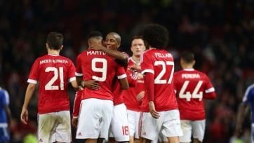 «Манчестер Юнайтед» разгромил «Ипсвич»