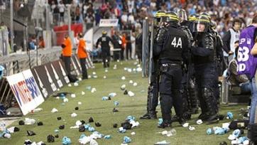 «Марсель» оштрафован частичным закрытием трибун «Велодрома»