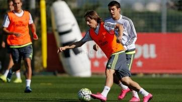 Лука Модрич может не сыграть против «Малаги»