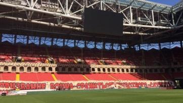 Болельщики «Спартака» серьёзно подготовились к матчу с «Зенитом»
