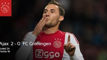 «Аякс» взял три очка в матче с «Гронингеном»