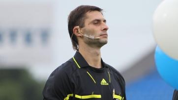 Еськов назначен на матч между «Марселем» и «Слованом»