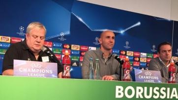 Андре Шуберт: «Для «Боруссии» это будет праздник, вне зависимости от результата»