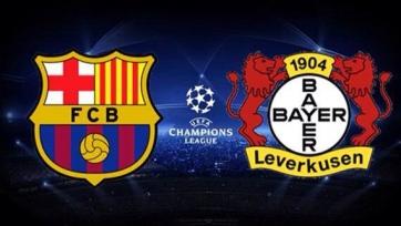 «Барселона» и «Байер» определились со стартовыми составами