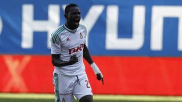 Умар Ниассе признан лучшим игроком «Локомотива» в сентябре