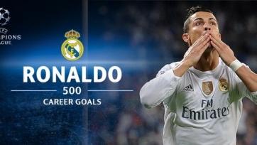 Криштиану Роналду забил 500-й гол в карьере